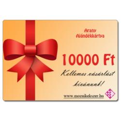 Arany - 10000 Ft Értékű Ajándékkártya