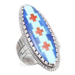 Különleges .925 Ezüst Gyűrű Drágakő Berakással