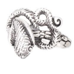Ezüst Kobrás Gyűrű