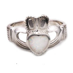 Sterling Ezüst Gyűrű Opál Kővel