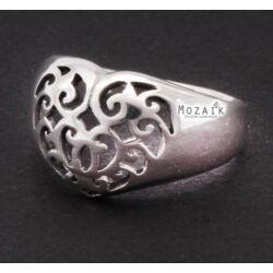 Ezüst Szív Alakú Gyűrű