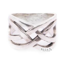 Ezüst Fonott Gyűrű