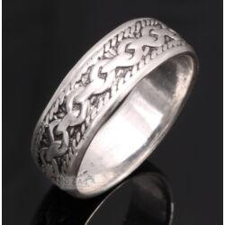 Sterling Ezüst Karikagyűrű