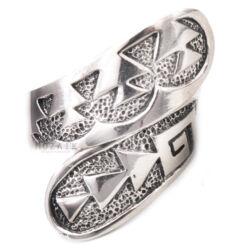 Délnyugati Stílusú Állítható Ezüst Gyűrű