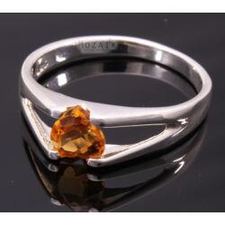 Ezüst Gyűrű Citrinnel