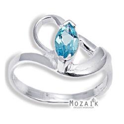 Ezüst Gyűrű Topáz Drágakővel