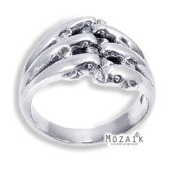 Ezüst Gyűrű Delfinekkel