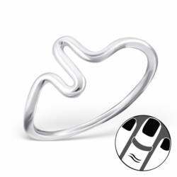 Sterling Ezüst Midi Gyűrű