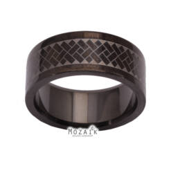 UNISEX Színezett Nemesacél Gyűrű