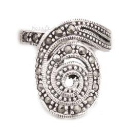 Ezüst Gyűrű Markazit Kövekkel