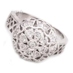 Ezüst Gyűrű Cirkónia Kövekkel