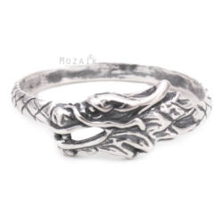 Ezüst Sárkányos Gyűrű