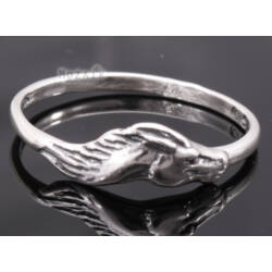 Ezüst Gyűrű Lóval