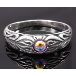 Ezüst Gyűrű Swarowski Kristállyal