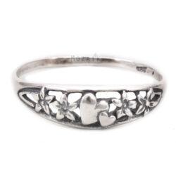 Ezüst Gyűrű Szívvel
