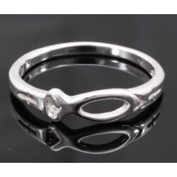 Ezüst Halas Gyűrű