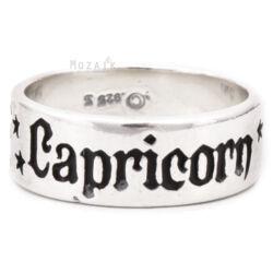Horoszkóp Ezüst Karika Gyűrű – BAK