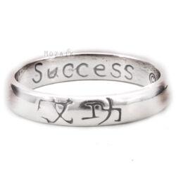 Ezüst Gyűrű Siker felirattal