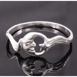 Ezüst Gyűrű – Hold és Csillag