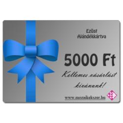 Ezüst - 5000 Ft Értékű Ajándékkártya