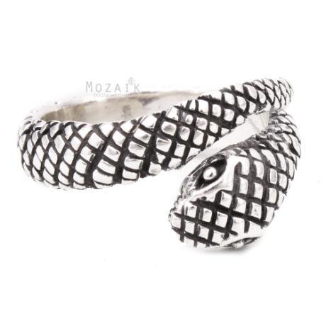 Ezüst Kígyós Gyűrű