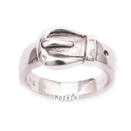 """Ezüst """"Öv"""" Gyűrű"""