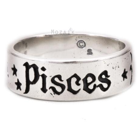 Horoszkóp Ezüst Gyűrű – HALAK