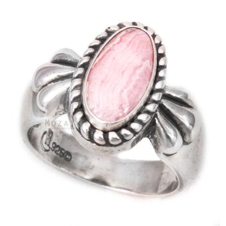Ezüst Gyűrű Rodokrozittal