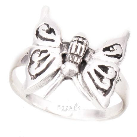 Ezüst Pillangós Gyűrű