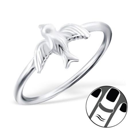 Sterling Ezüst Midi Gyűrű - Galamb
