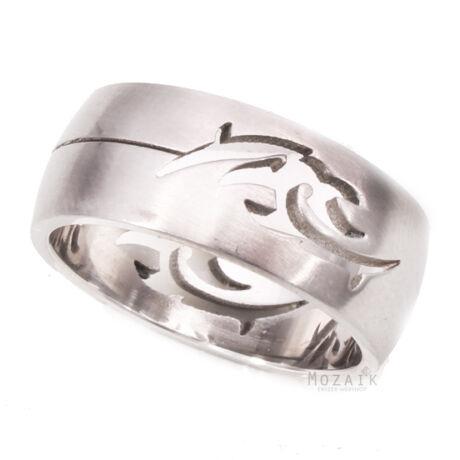UNISEX Nemesacél Gyűrű