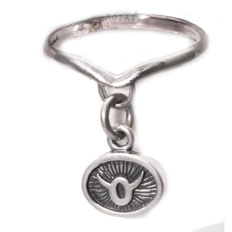 Horoszkóp Ezüst Gyűrű - BIKA