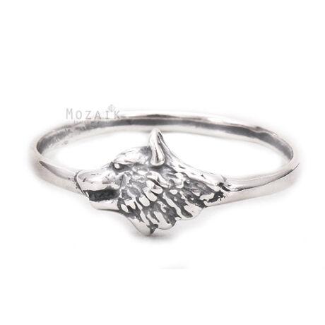 Ezüst Gyűrű Farkassal