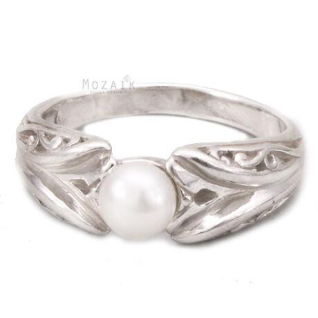 Ezüst Gyűrű Igazgyönggyel