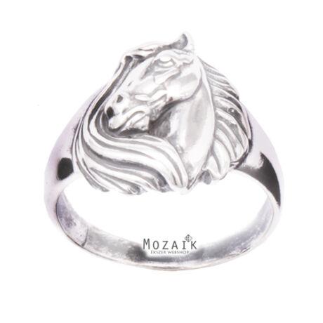 Ezüst Gyűrű Lófejjel