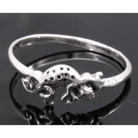 Ezüst Gyűrű Gyíkkal