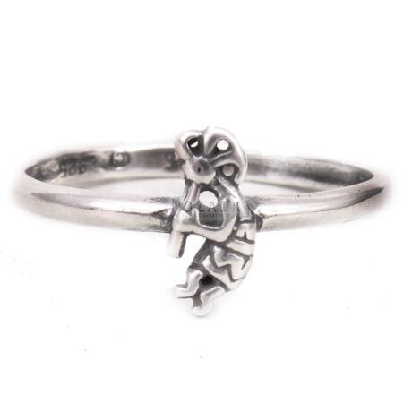 Ezüst Kokopellis Gyűrű