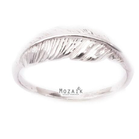 """Ezüst """"Madártoll"""" Gyűrű"""