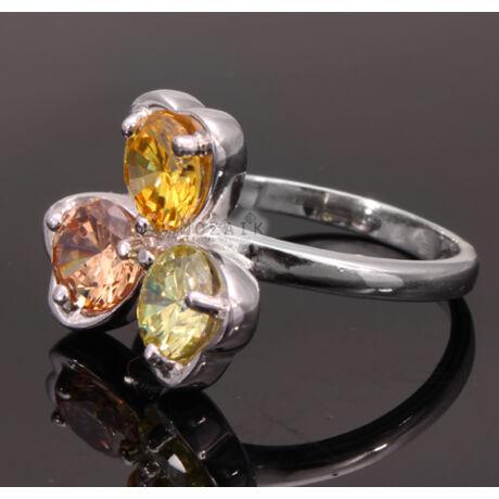 Mutatós Ezüst Cirkónia Gyűrű