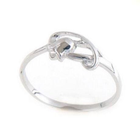 Sterling Ezüst Gyűrű Tulipánnal